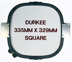 335mm x 329mm Square Hoop, 400 Needle Spacing, Melco Compatible