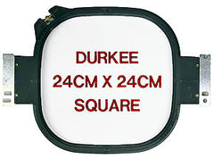 24cm x 24cm Square Hoop, 500 Needle Spacing, SWF & Inbro Compatible