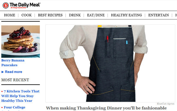 The Daily Meal - Get Ready to Cook Thanksgiving Dinner with BlueCut Aprons
