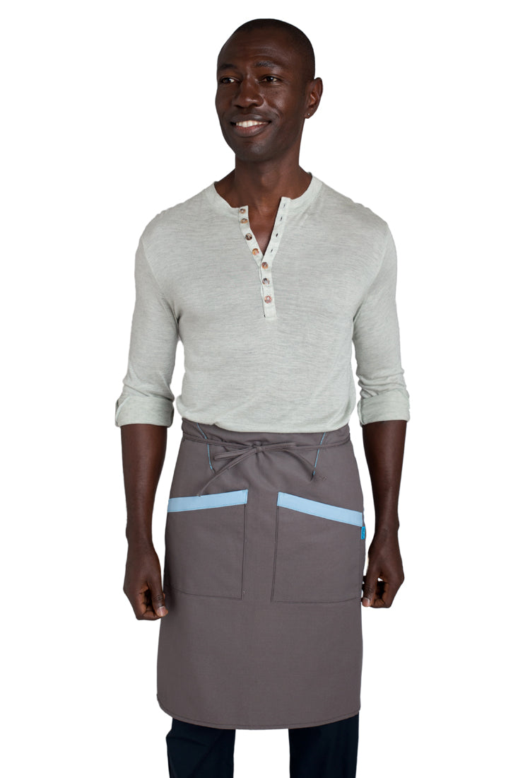 Bradford Bistro Apron Dusty Gray