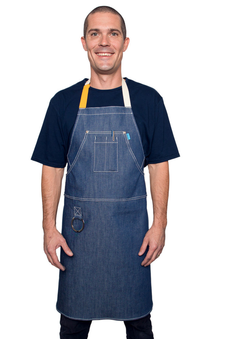 Hatfield Apron Vintage Blue