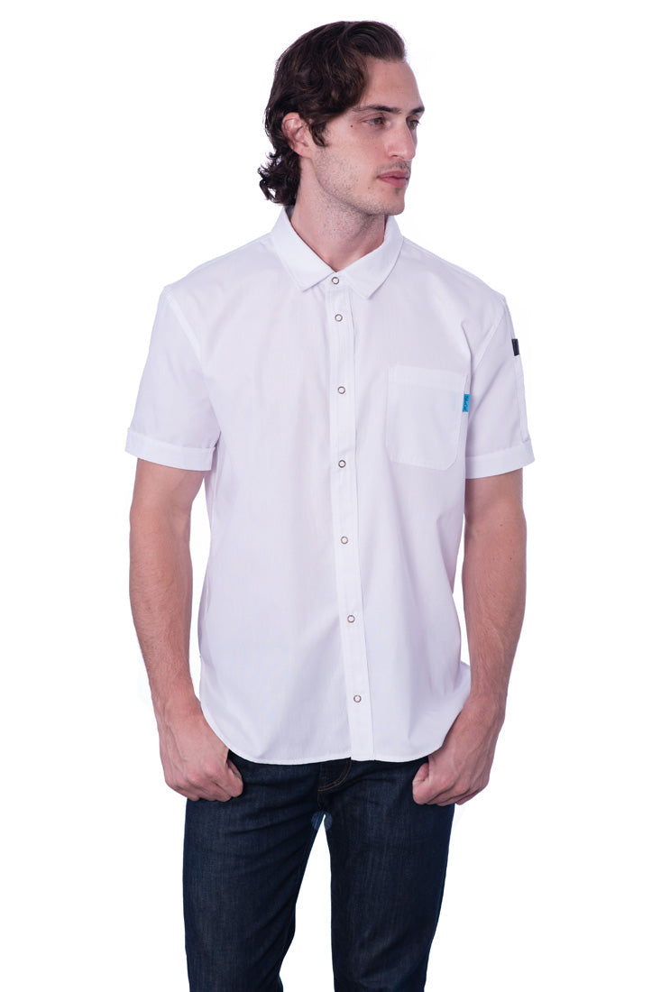 Rivington Chef Coat White