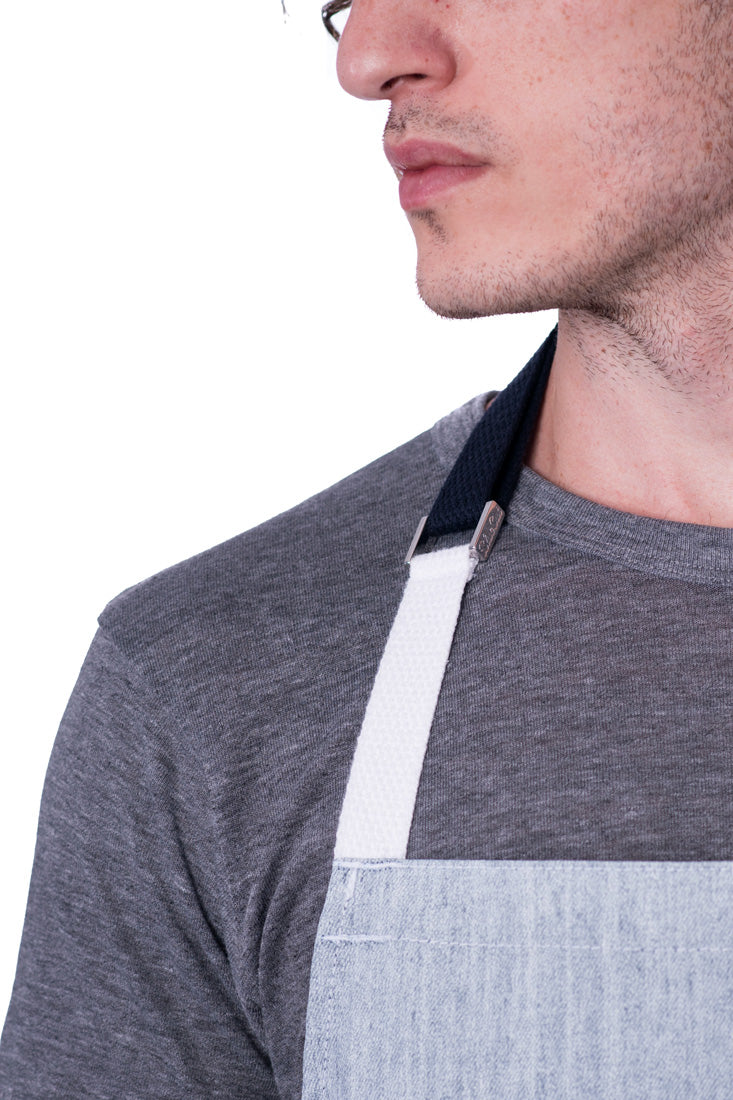 Hatfield Waxed Denim Apron Frost