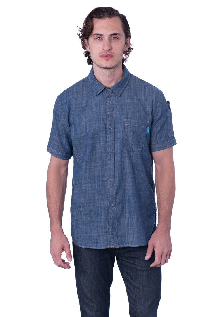 Work Shirt Bluefin