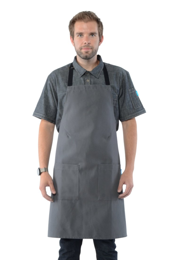 HATFIELD CROSS BACK APRON Navy