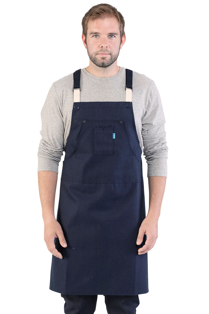 Dixon Bistro Apron Light Gray