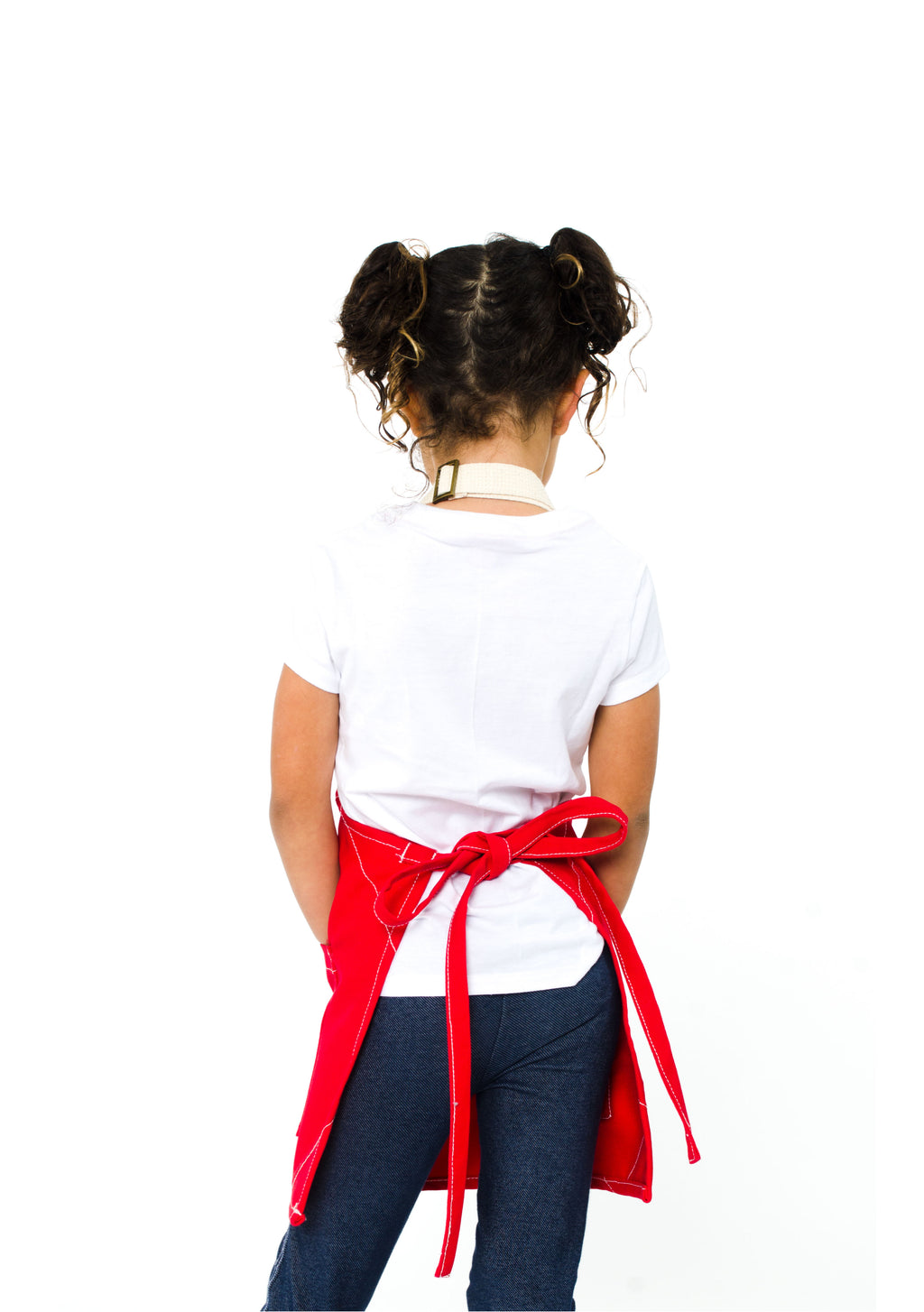 LUCCA KIDS APRON 5-7 YEARS CHILLI