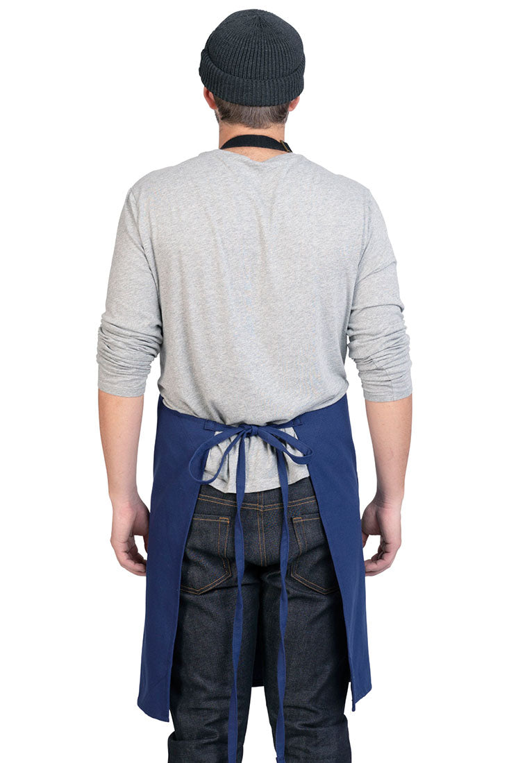 LUCCA APRON FRENCH BLUE