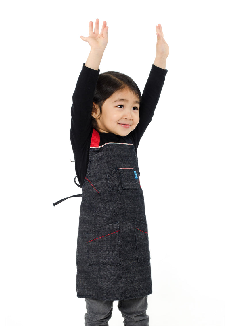 LUCCA TOTS APRON 2-4 YEARS CHILLI