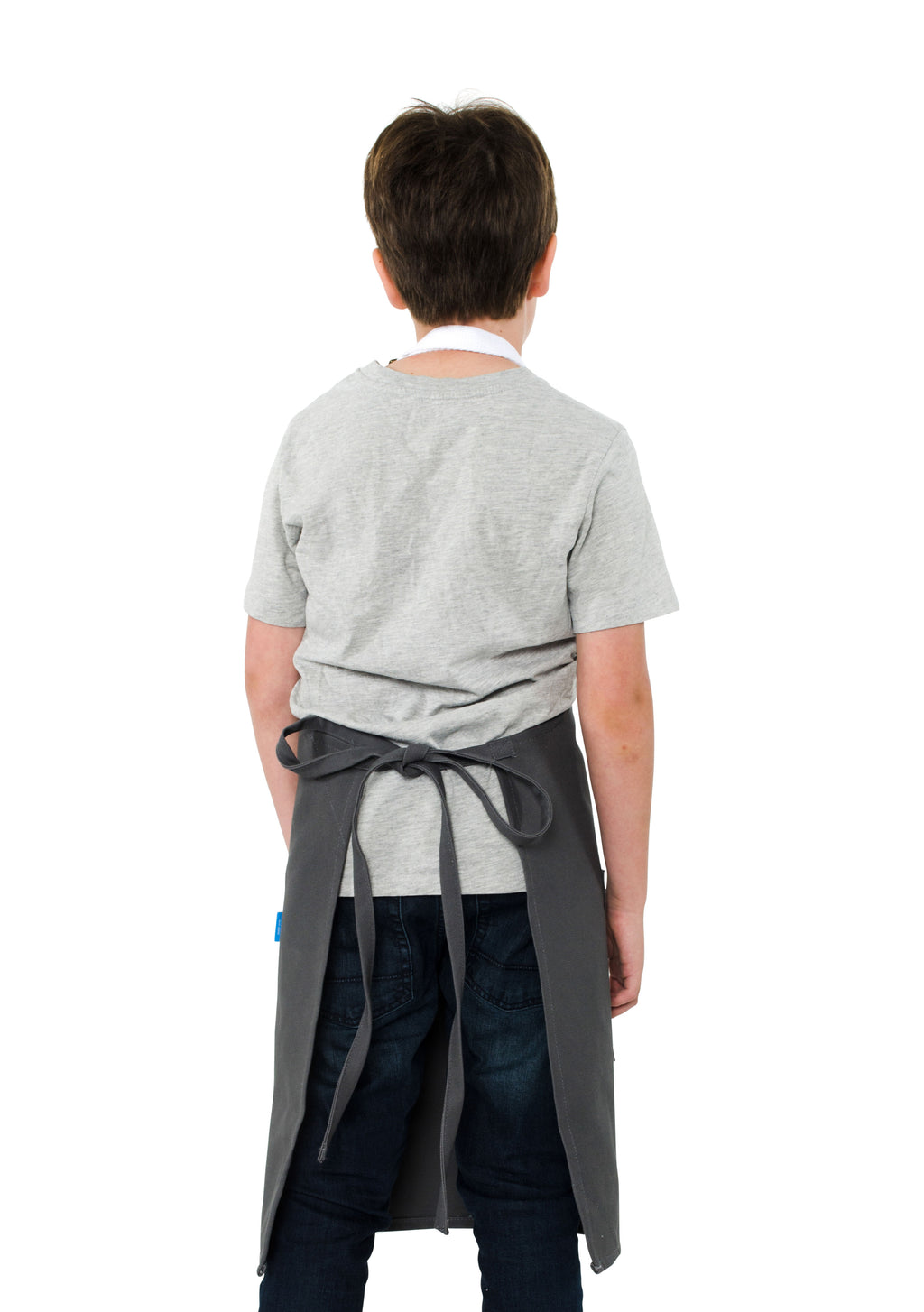 MISCHA KIDS APRON 8-12 YEARS GRAY