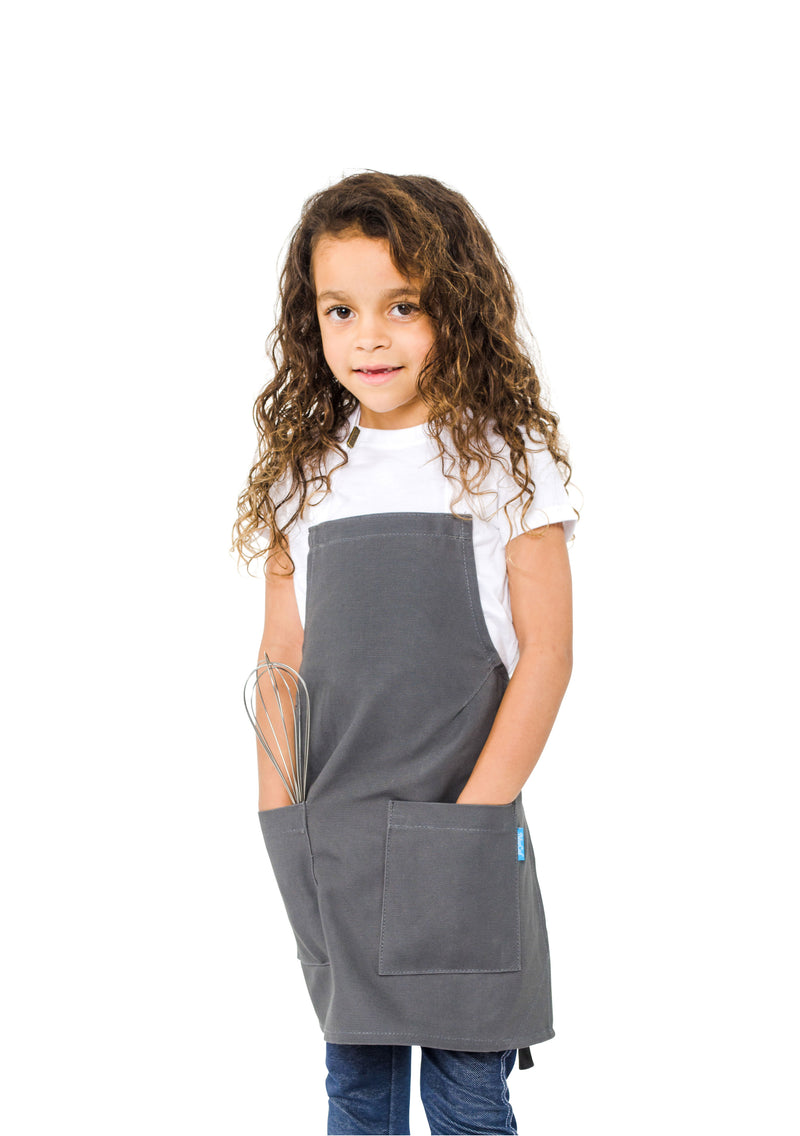 MISCHA KIDS APRON 5-7 YEARS GRAY