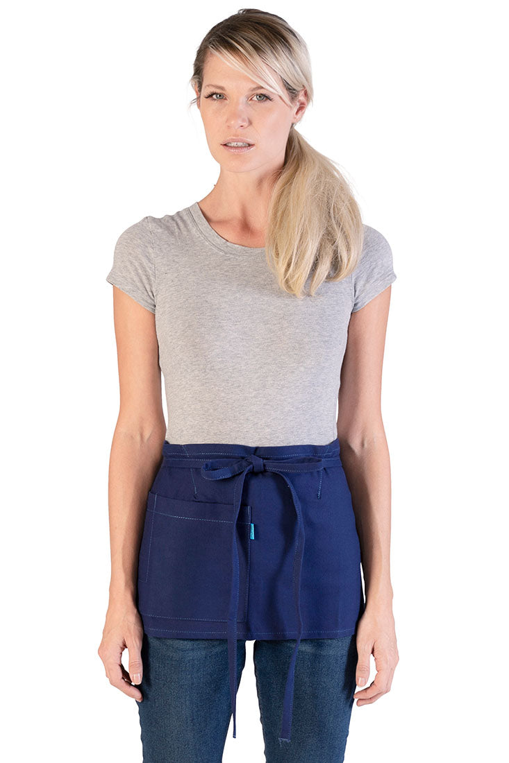 MERCER MINI WAIST APRON FRENCH BLUE