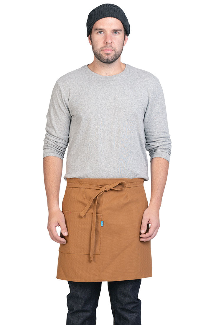 MERCER WAIST APRON WHISKEY