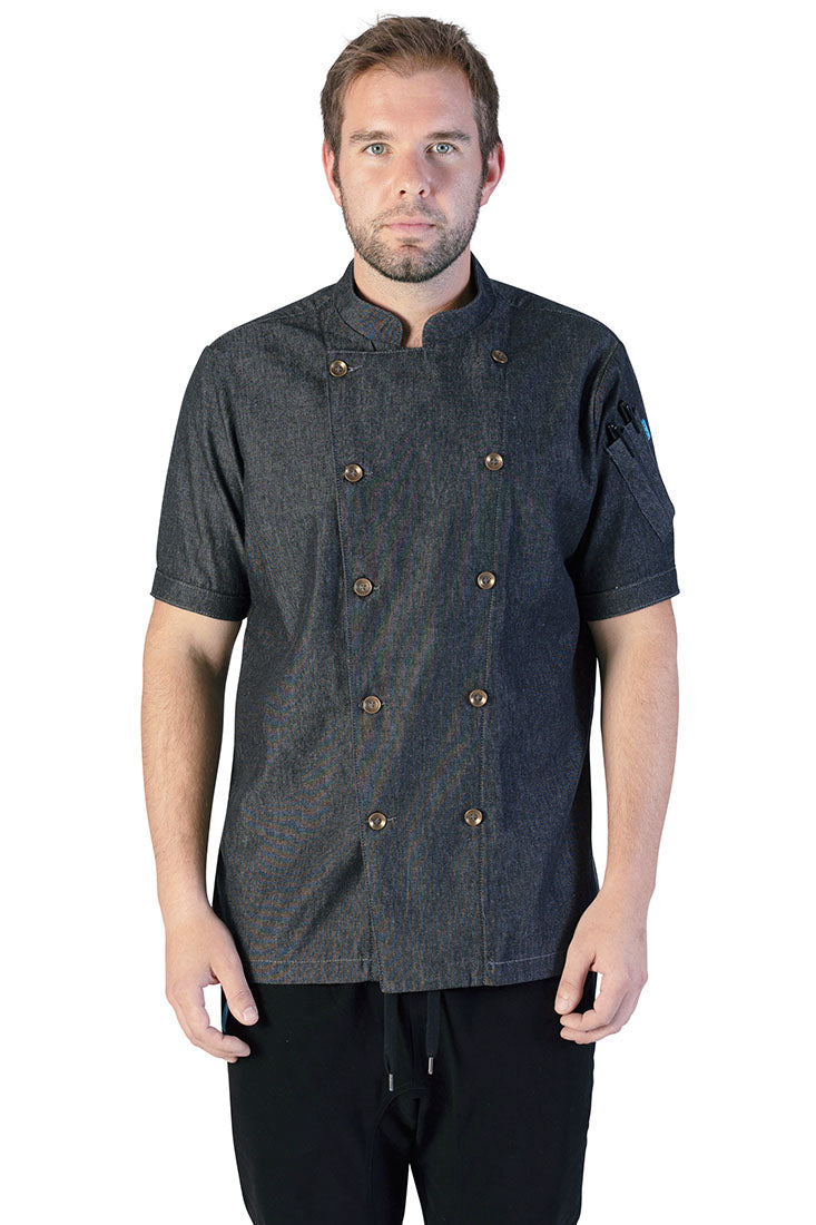 Rivington Chef Coat Smoke