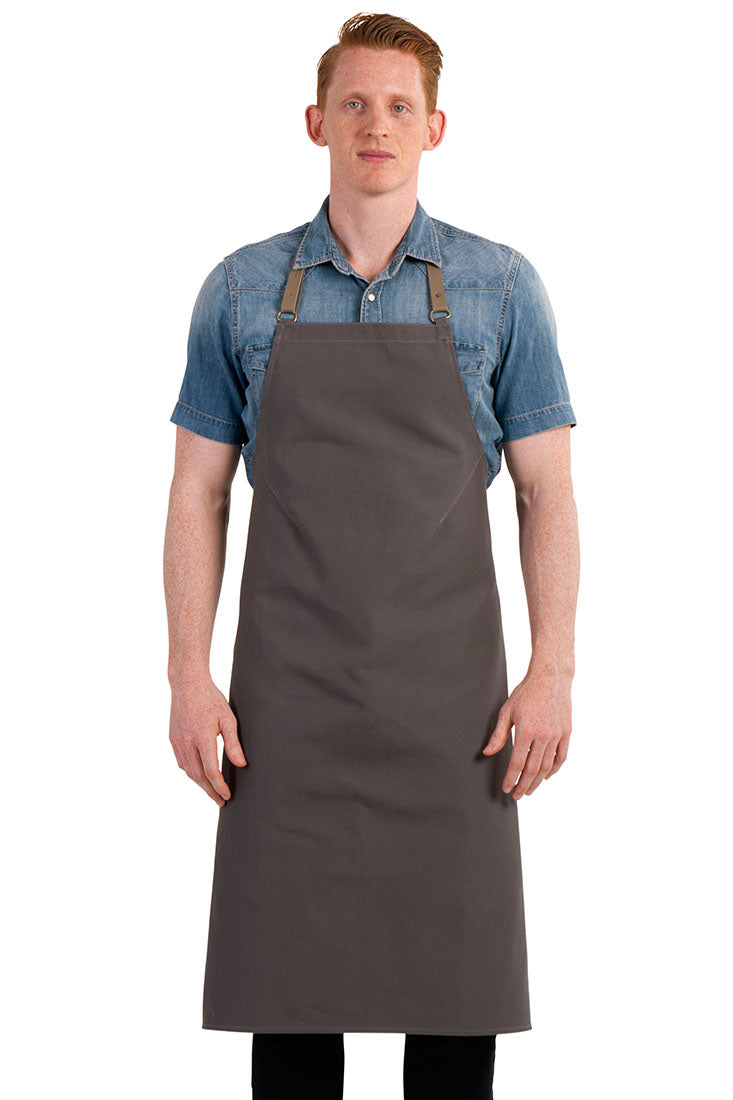 WALLACE APRON GRAY
