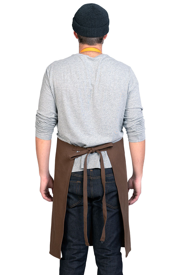 WESTON APRON TOBACCO