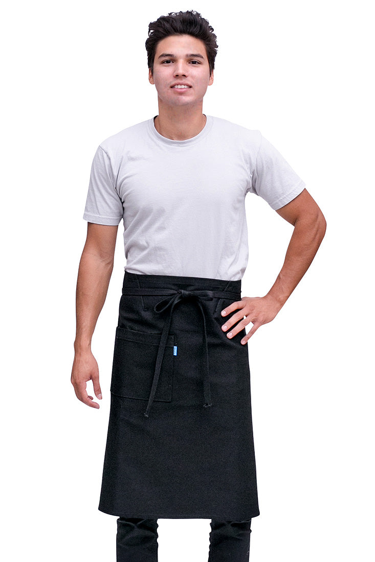 Mercer Bistro Apron Black