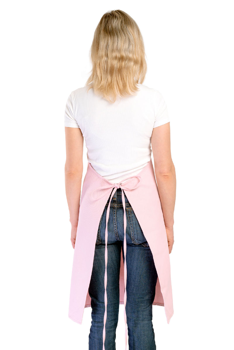 Parker Apron Blush Canvas