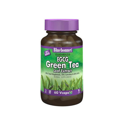 ECGC Green Tea Leaf Extract 60 Vcaps