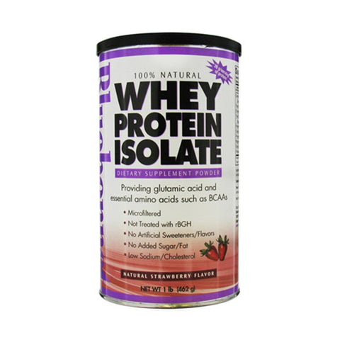 Whey Protein Isolate Strawberry 1Lb