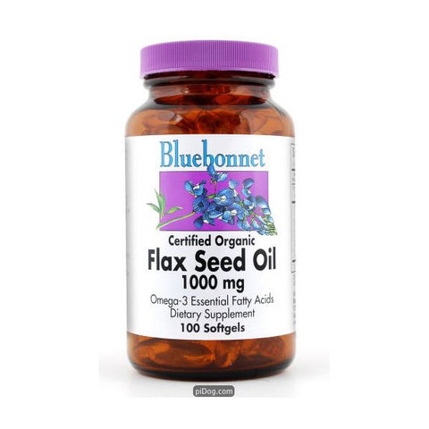 Flax Seed Oil 1000 Mg 250 Softgel