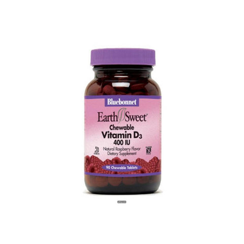 Earthsweet Vitamin D3 400 IU Chewables 90 Tablets