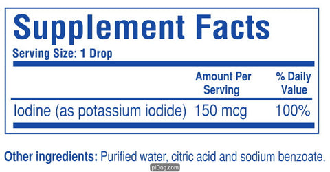 Liquid Iodine Forte 2 Oz