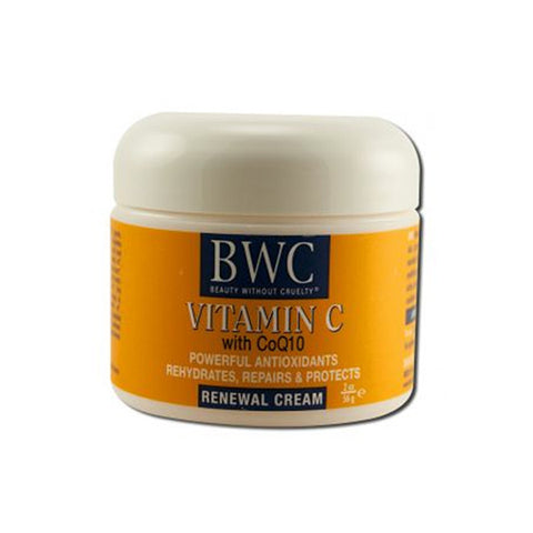 Renewal Cream Vitamin C With CoQ10 BWC 2 Oz