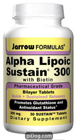 Alpha Lipoic Sustain 300 MG 120 Tabs