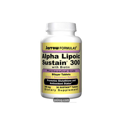 Alpha Lipoic Sustain 300 Mg 30 Tabs