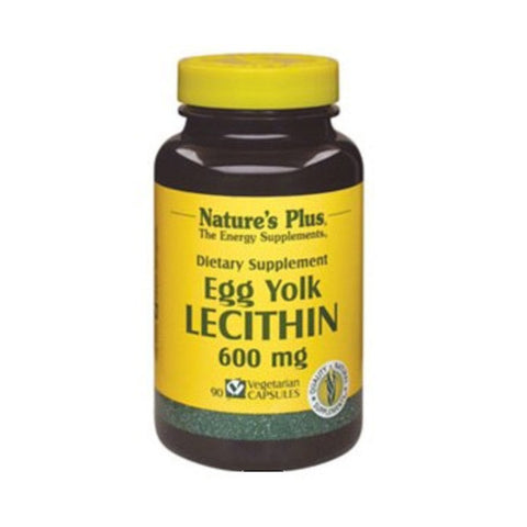 Egg Yolk Lecithin 600 Mg Vcaps