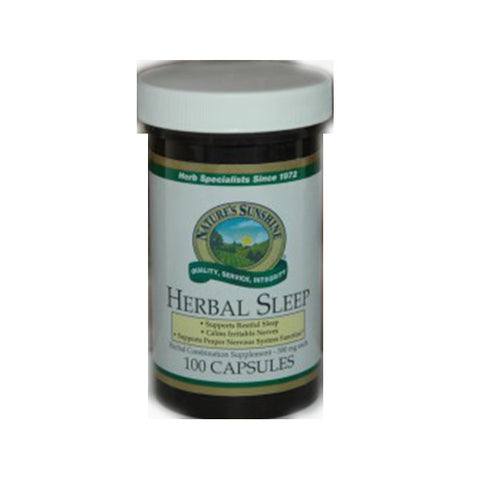 Herbal Sleep 100 Capsules