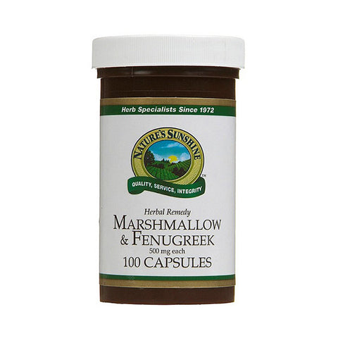 Marshmallow & Fenugreek (Kosher) 100 Capsules