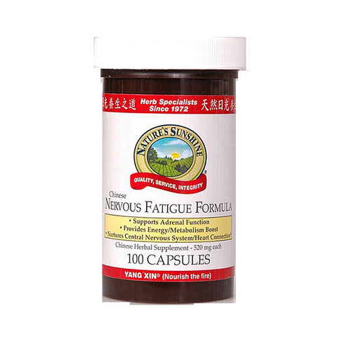 Nervous Fatigue Formula (Nourish The 100 Capsules