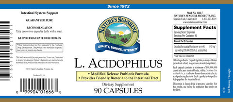 L Acidophilus (Coated) 90 Caps