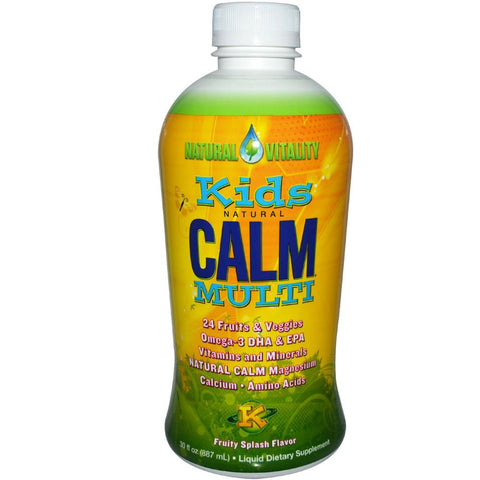 Kids Natural Calm Multi Liquid 30 Oz