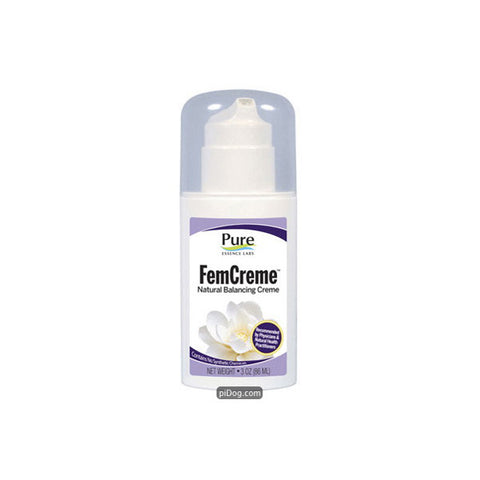 FemCreme Natural Progesterone 3 Oz. Pump