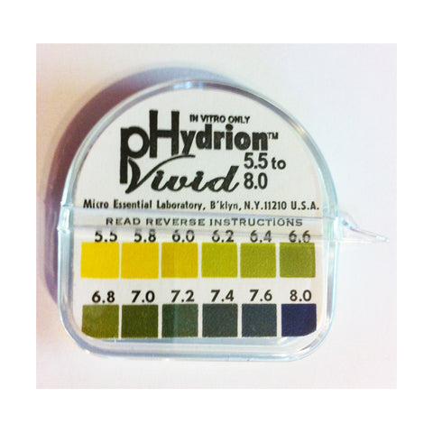 pH Hydrion Papers