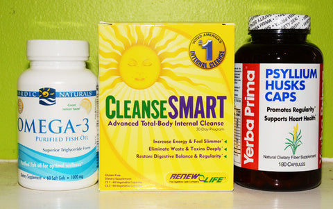 Margaret's CleanseSMART Total Body Cleanse Kit + Oil/Fiber