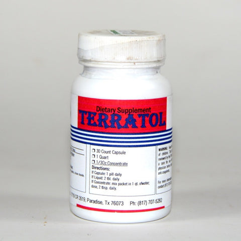 Terratol Trace Mineral 125 mg. 30 Caps