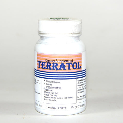 Terratol Trace Mineral 33 mg 30 Caps