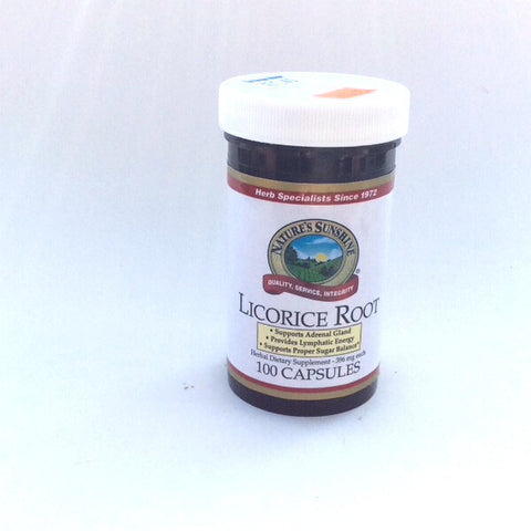 Licorice Root 100 Caps