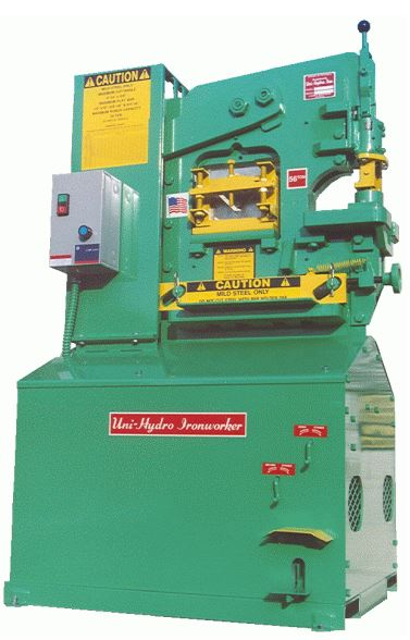 Uni-Hydro 56-14 Ironworker (1 or 3 ph)