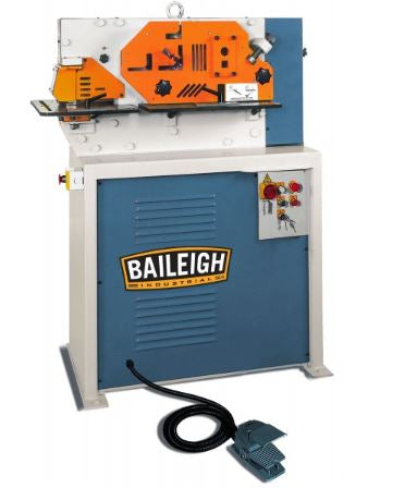 Baileigh SW-443 Hydraulic 4-Station Ironworker (3 Ph)