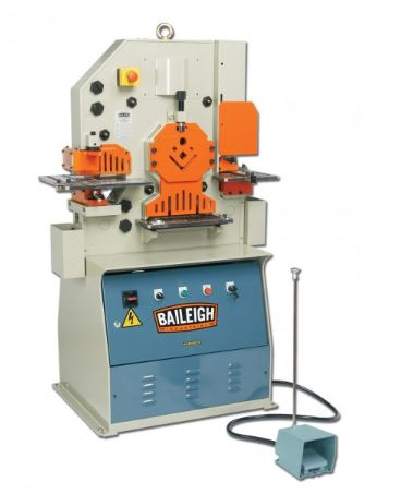 Baileigh SW-501 Hydraulic Ironworker (1 Ph)