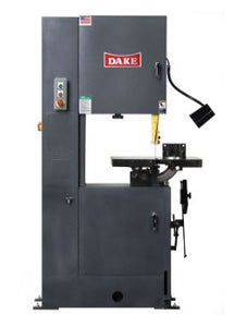 Dake Trademaster Vertical Band Saw w/Welder