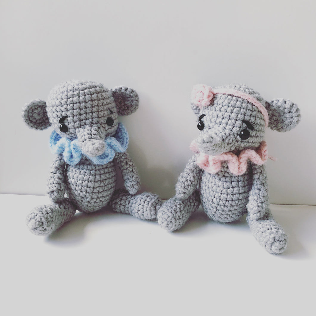 Tiny Elephant Set