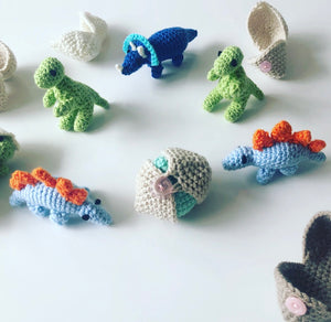Tiny Dinosaur Hatchlings