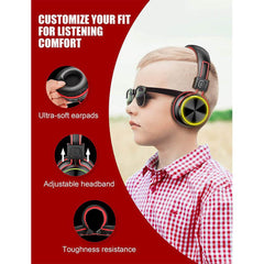 PeohZarr Kids Bluetooth Headphones With LED Light UP