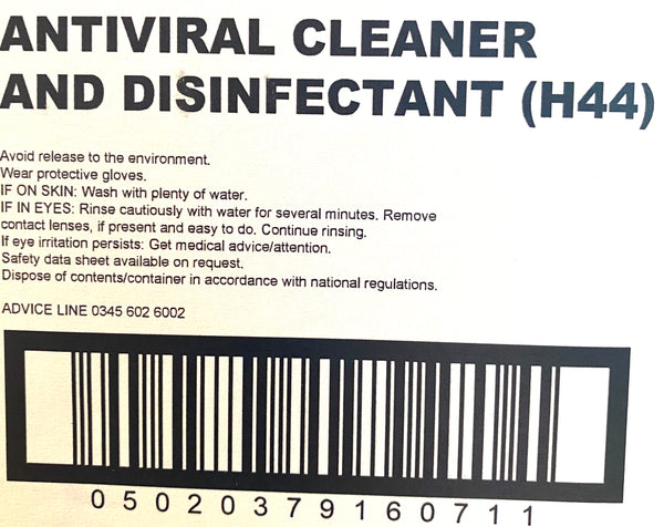 Antiviral CLEANER & Disinfectant Spray 1 Litre CleanPro+ Professional Disinfectant - PPE Supplies UK